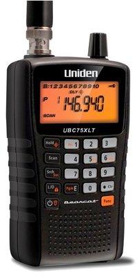 Uniden Bearcat UBC75xlt