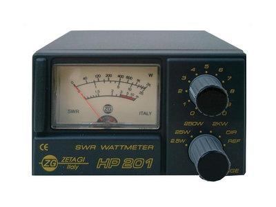 ZETAGI HP 201 SWR/PWR FOR CB (Tijdelijk uitverkocht)
