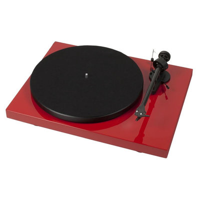 Pro-Ject Debut Carbon DC-USB - Rood