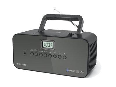 Muse M-22BT - Draagbare Radio/CD-speler/MP3 met Bluetooth