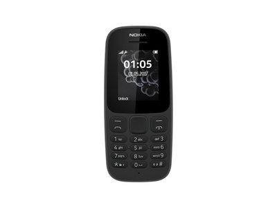 Lebara Nokia 105 - zwart
