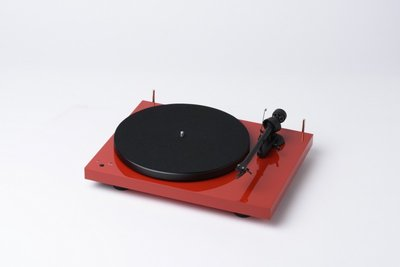 Pro-Ject Debut 3 Recordmaster - Rood